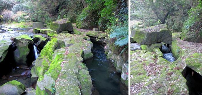 関吉の疎水溝  2-3 関吉の疎水溝 出典:鹿児島県ホームページより。 (説