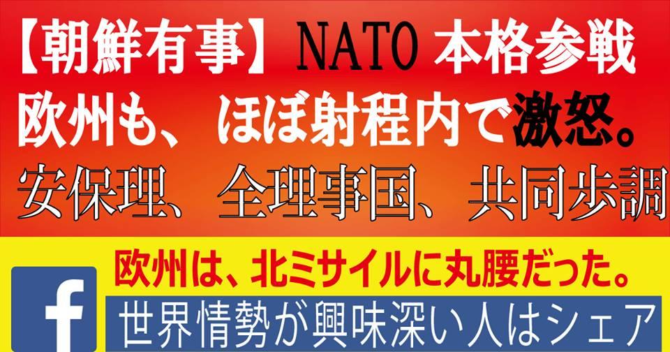 【NATO参戦】北朝鮮、チキンレースでドボン。安保理、全理事国が共同歩調【世界を読む人はシェア】